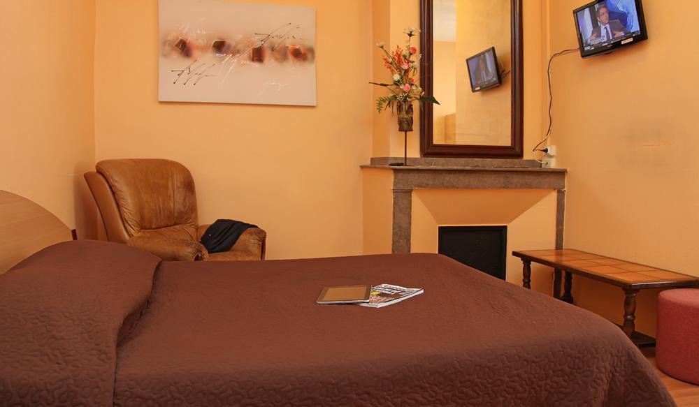 Chambre simple - Hôtel Terminus Albi