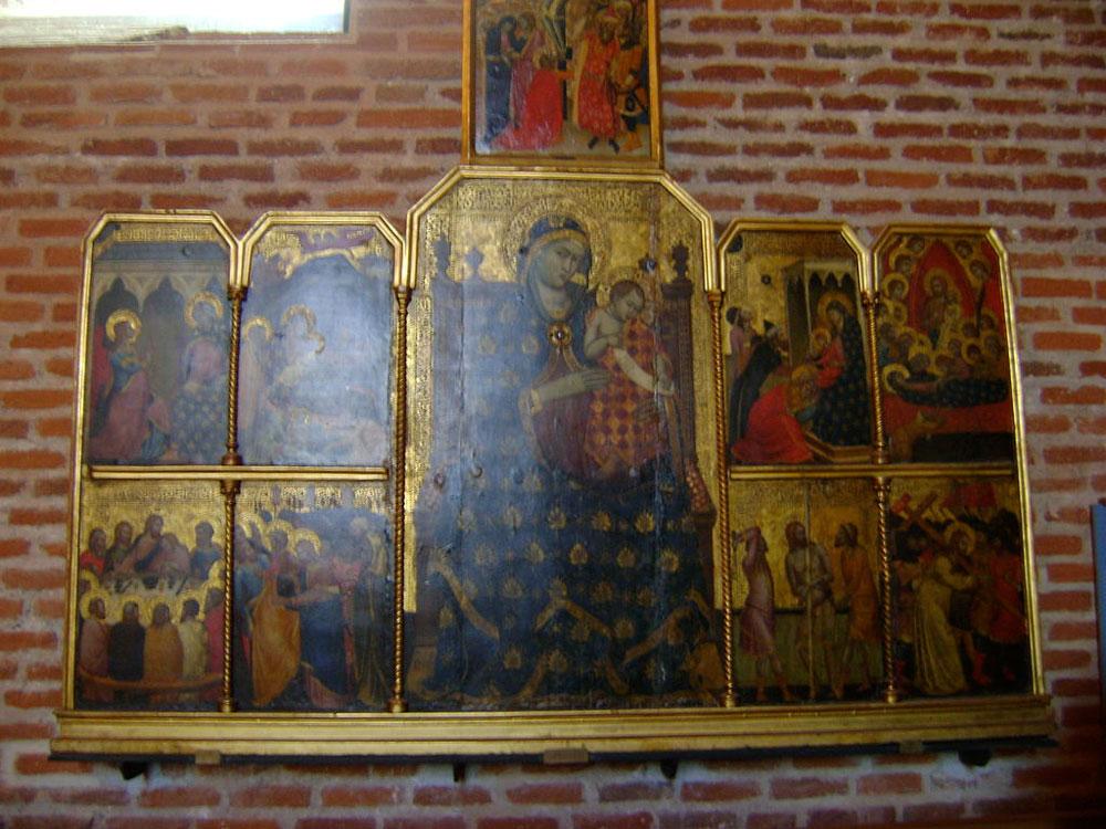 Polyptyque cathédrale Sainte-Cécile